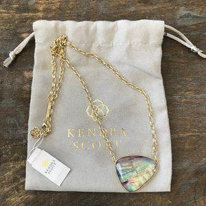 kendra scott • mckenna gold pendant necklace •